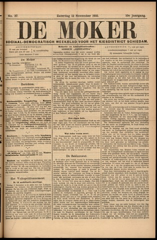 De Moker 1910-11-12