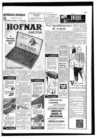Rotterdamsch Nieuwsblad / Schiedamsche Courant / Rotterdams Dagblad / Waterweg / Algemeen Dagblad 1965-04-09