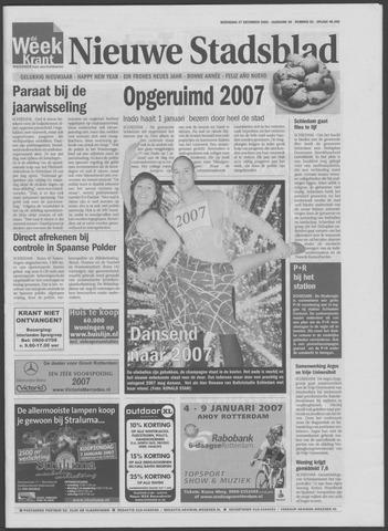 Het Nieuwe Stadsblad 2006-12-27