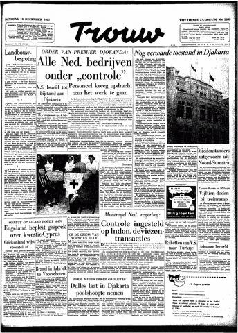 Trouw / De Rotterdammer 1957-12-10