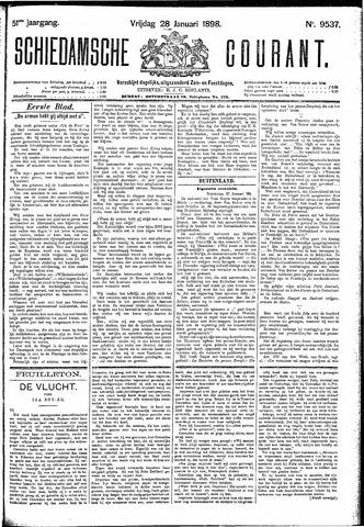 Schiedamsche Courant 1898-01-28