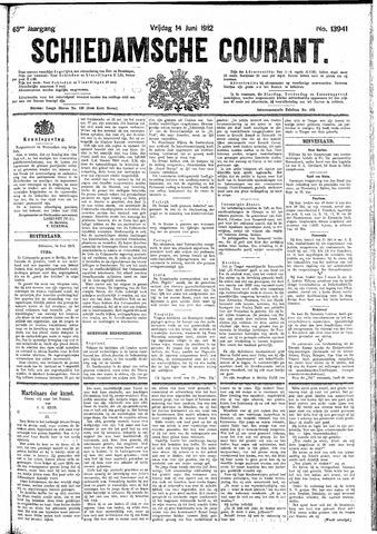 Schiedamsche Courant 1912-06-14