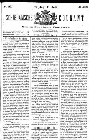 Schiedamsche Courant 1877-07-13