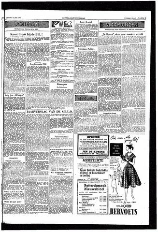 Rotterdamsch Nieuwsblad / Schiedamsche Courant / Rotterdams Dagblad / Waterweg / Algemeen Dagblad 1953-05-12