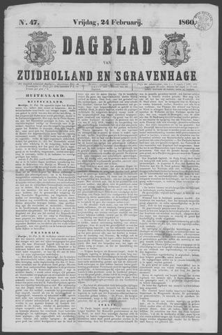 Dagblad van Zuid-Holland 1860-02-24