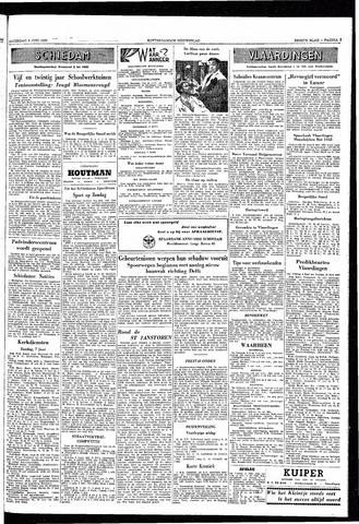 Rotterdamsch Nieuwsblad / Schiedamsche Courant / Rotterdams Dagblad / Waterweg / Algemeen Dagblad 1953-06-06