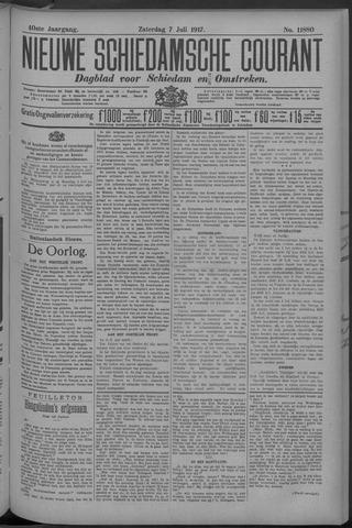 Nieuwe Schiedamsche Courant 1917-07-07