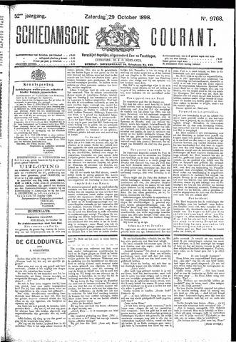 Schiedamsche Courant 1898-10-29
