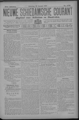 Nieuwe Schiedamsche Courant 1917-01-20