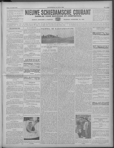 Nieuwe Schiedamsche Courant 1933-07-20