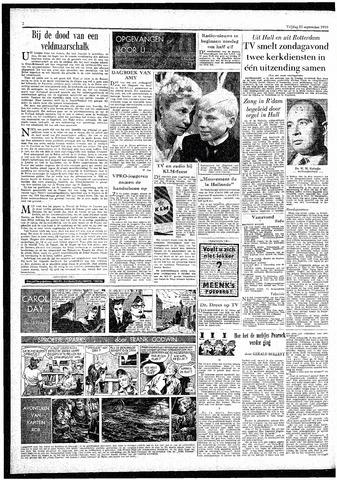Rotterdamsch Parool / De Schiedammer 1959-09-25