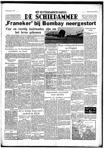 Rotterdamsch Parool / De Schiedammer 1949-07-12