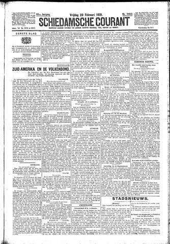 Schiedamsche Courant 1931-02-20