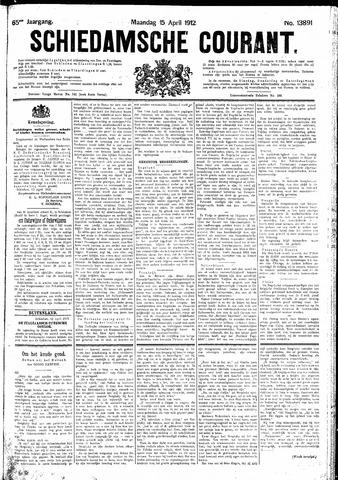 Schiedamsche Courant 1912-04-15