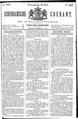 Schiedamsche Courant 1877-05-16