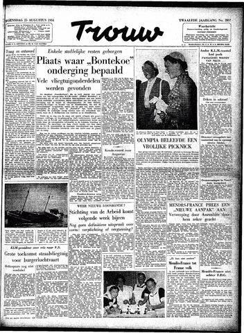 Trouw / De Rotterdammer 1954-08-25