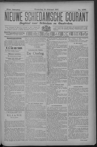 Nieuwe Schiedamsche Courant 1917-02-21