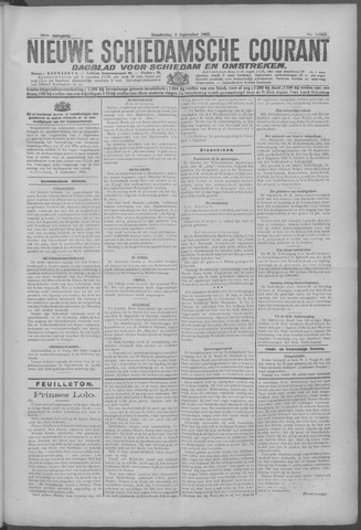 Nieuwe Schiedamsche Courant 1925-09-03