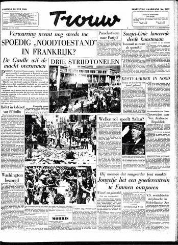 Trouw / De Rotterdammer 1958-05-16