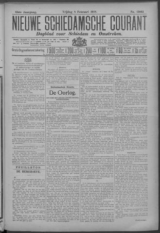 Nieuwe Schiedamsche Courant 1918-02-08