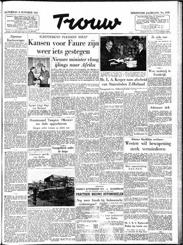 Trouw / De Rotterdammer 1955-10-08