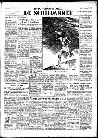 Rotterdamsch Parool / De Schiedammer 1948-07-24