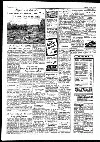 Rotterdamsch Parool / De Schiedammer 1955-06-13