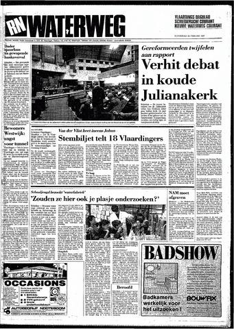 Rotterdamsch Nieuwsblad / Schiedamsche Courant / Rotterdams Dagblad / Waterweg / Algemeen Dagblad 1987-02-26