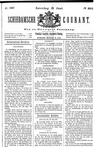 Schiedamsche Courant 1877-06-23