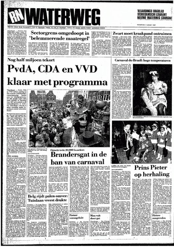 Rotterdamsch Nieuwsblad / Schiedamsche Courant / Rotterdams Dagblad / Waterweg / Algemeen Dagblad 1987-03-02
