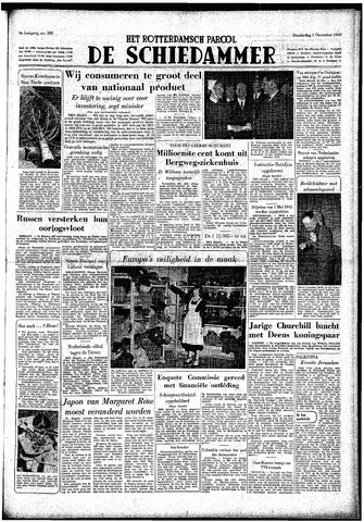 Rotterdamsch Parool / De Schiedammer 1949-12-01