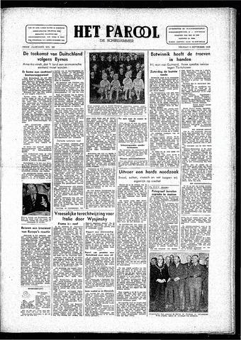 Rotterdamsch Parool / De Schiedammer 1946-09-06