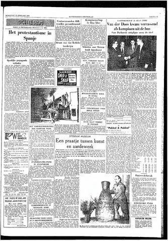 Rotterdamsch Nieuwsblad / Schiedamsche Courant / Rotterdams Dagblad / Waterweg / Algemeen Dagblad 1959-02-25