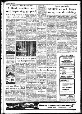 Rotterdamsch Parool / De Schiedammer 1961-05-15