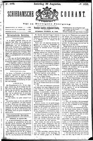 Schiedamsche Courant 1881-08-20