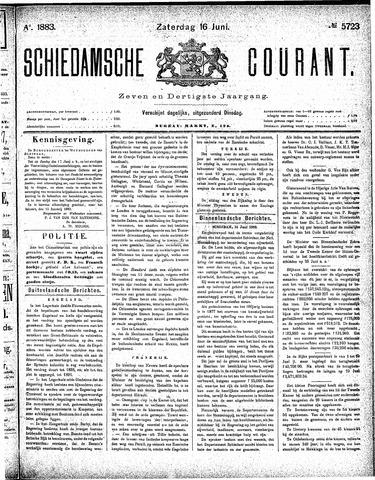 Schiedamsche Courant 1883-06-16