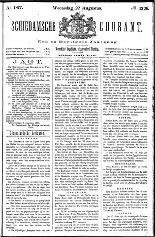 Schiedamsche Courant 1877-08-22
