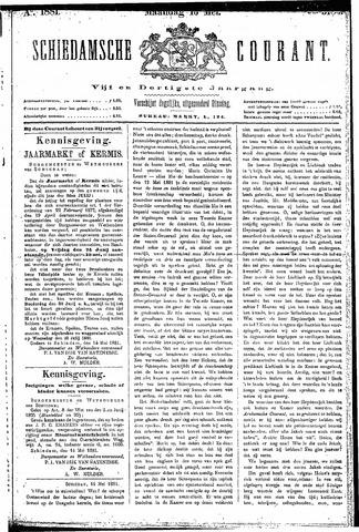 Schiedamsche Courant 1881-05-16