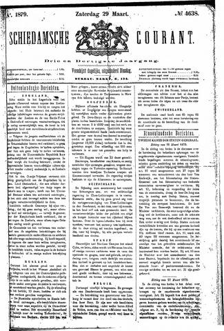 Schiedamsche Courant 1879-03-29