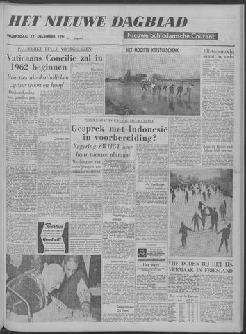 Nieuwe Schiedamsche Courant 1961-12-27