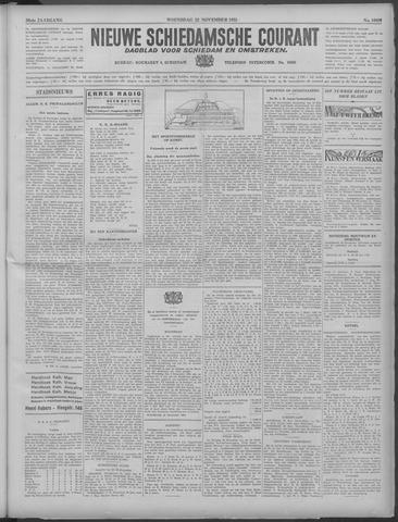 Nieuwe Schiedamsche Courant 1933-11-22