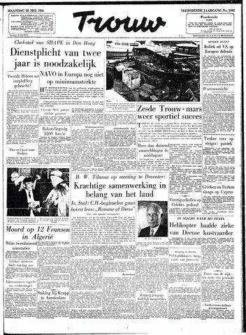Trouw / De Rotterdammer 1956-05-28