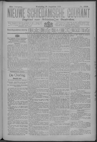 Nieuwe Schiedamsche Courant 1918-08-28