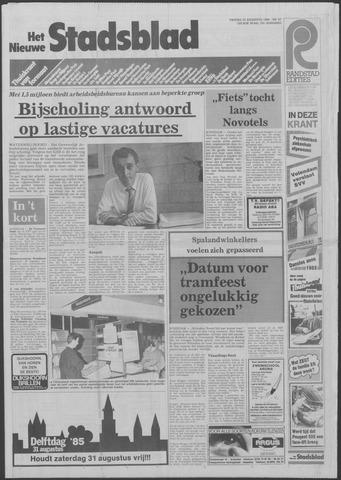 Het Nieuwe Stadsblad 1985-08-23