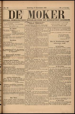 De Moker 1910-12-17