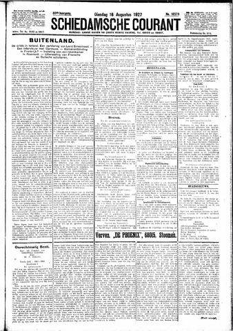 Schiedamsche Courant 1927-08-16