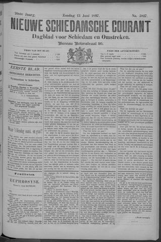 Nieuwe Schiedamsche Courant 1897-06-13