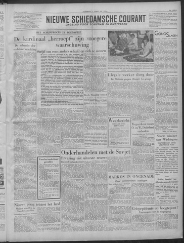 Nieuwe Schiedamsche Courant 1949-02-05