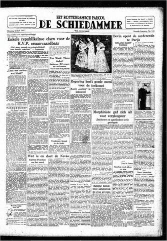 Rotterdamsch Parool / De Schiedammer 1947-07-12