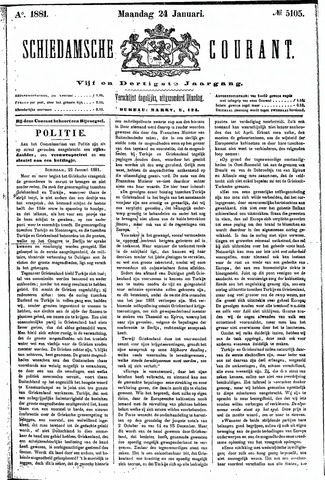 Schiedamsche Courant 1881-01-24